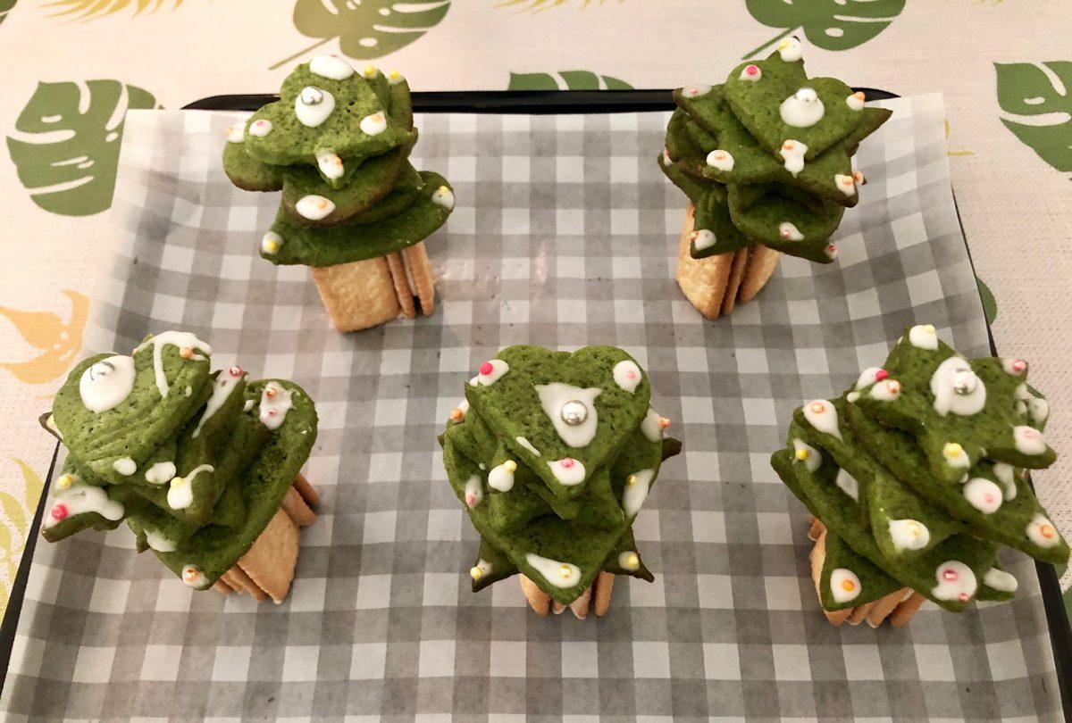 抹茶クリスマスツリー~クッキーVersion~