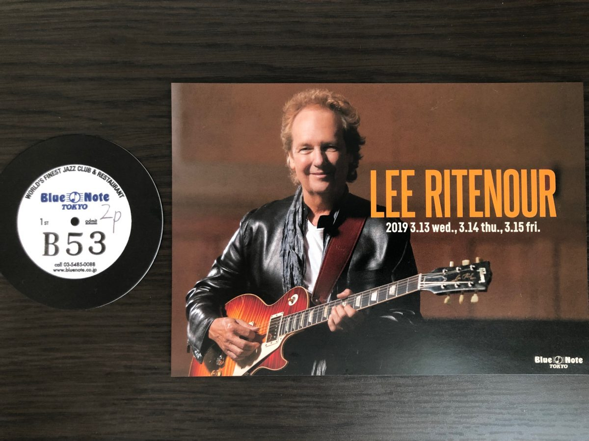 LEE RITENOUR(リー・リトナー)Live at Blue Note Tokyo